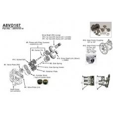 Насос гидравлический для Caterpillar E300L, E320L, E322L, E325L, E329L
