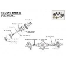 Мотор гидравлический для Hitachi EX100-1, EX100-2, EX120-1, EX120-2, EX200, EX220, EX220-1, EX265-1, EX265-2, EX265-3, EX265-5, EX300-1, EX300-2, EX300-3, EX300-5